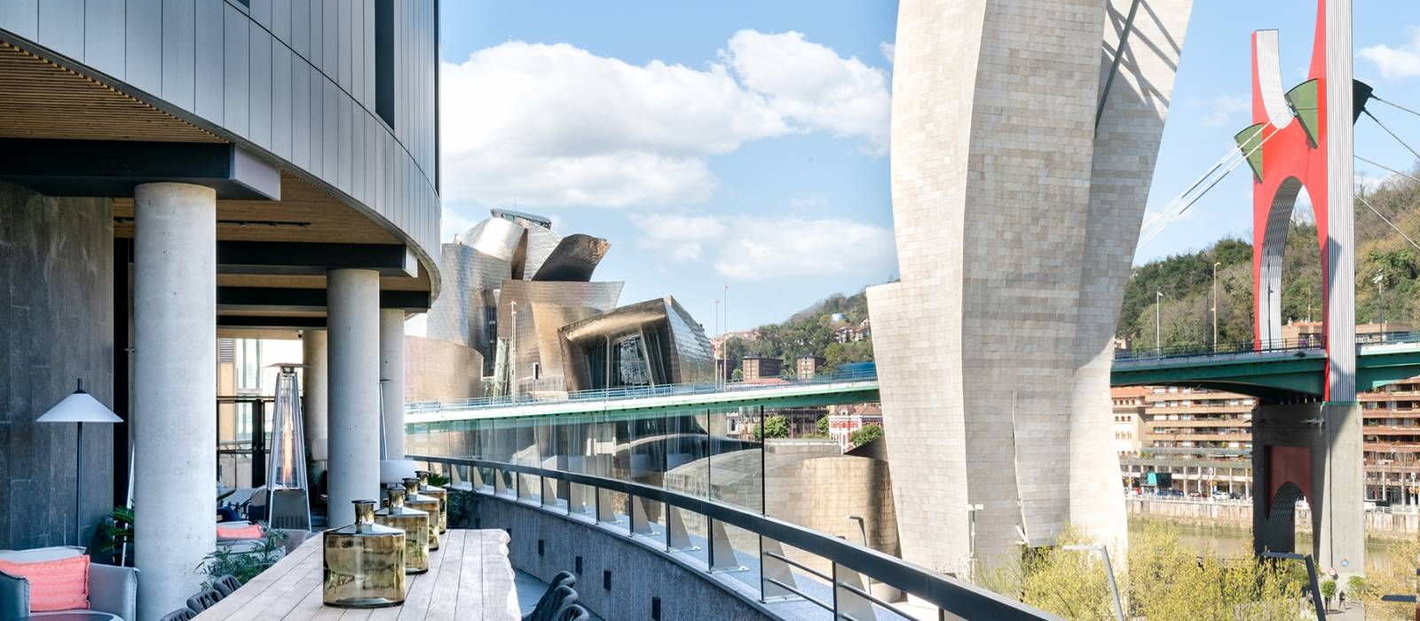 Vincci Bilbao - Instalacion y servicio Terraza