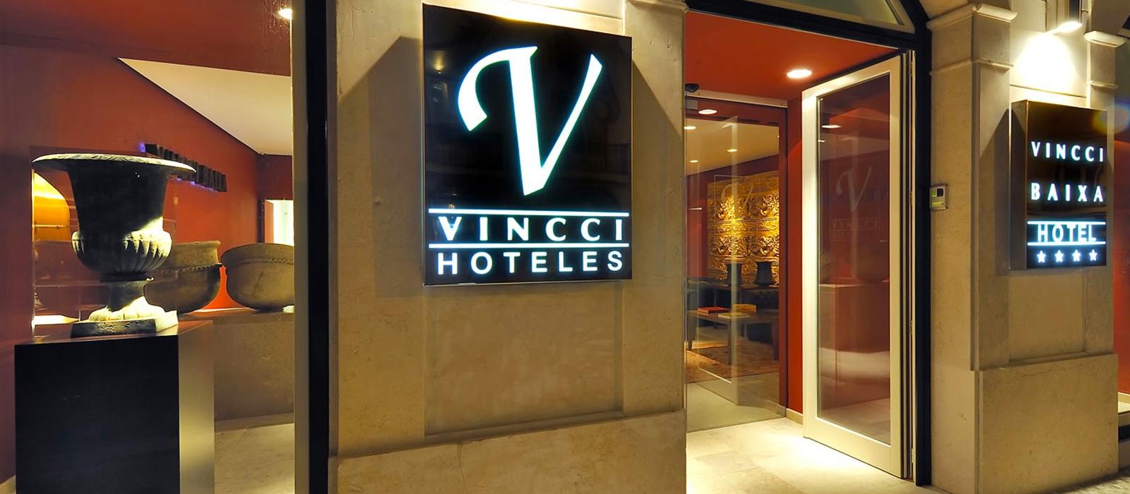 Außenansicht - Vincci Baixa 4*