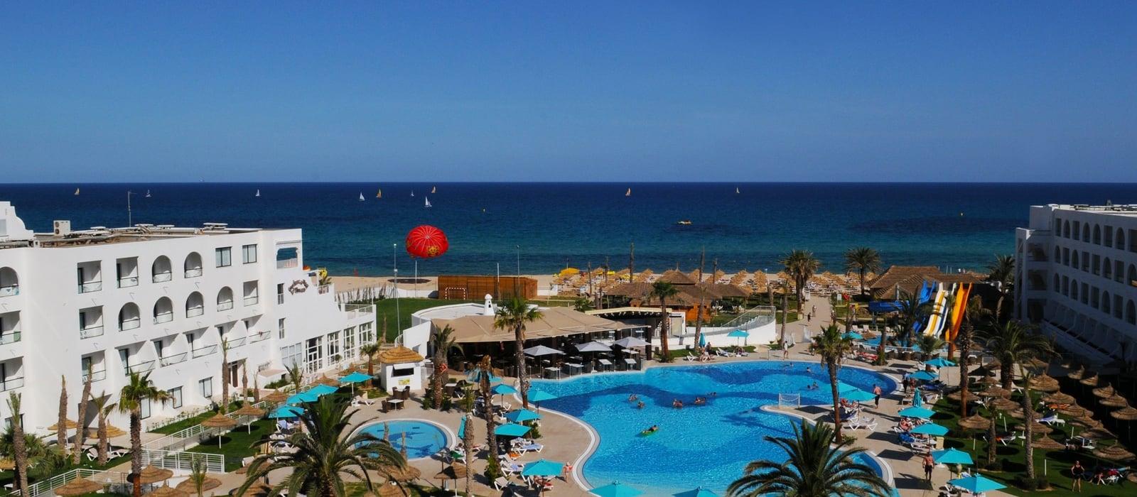 Panorámica Hotel - Hamammet Nozha Beach Hotel