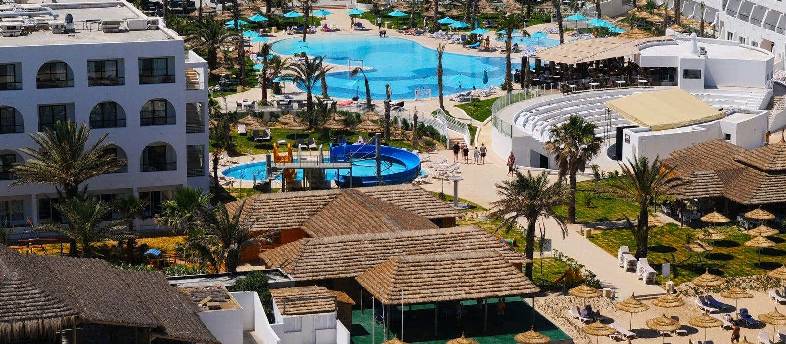 Vista Aérea - Hamammet Nozha Beach Hotel