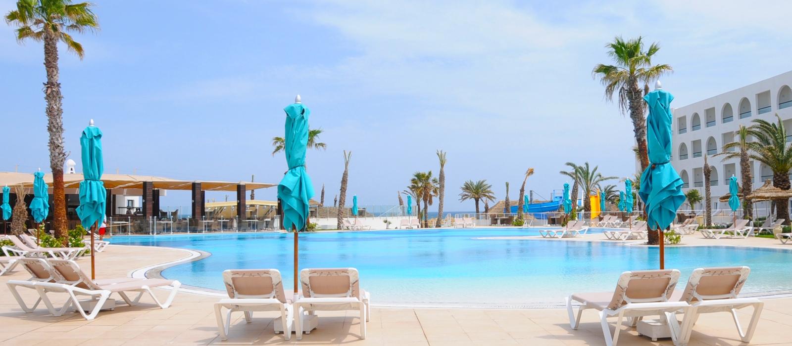Piscina Exterior - Hamammet Nozha Beach Hotel