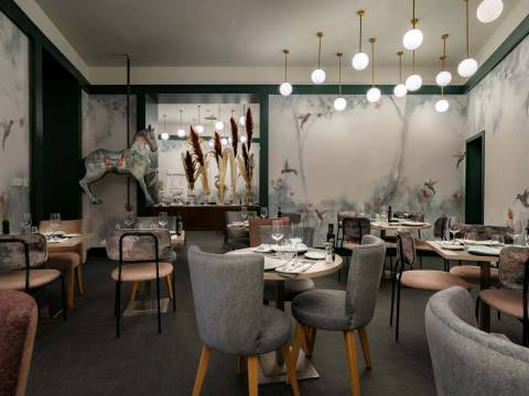 Vincci Soho 4* - RESTAURANTE NOMAD FOOD & BAR