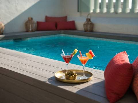 Plunge pool Vincci Mae 4* | Vincci Hoteles