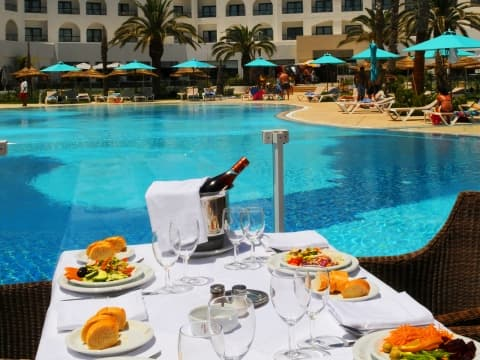 Buffet - Vincci Nozha Beach&Spa4*