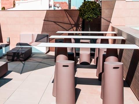 Terrasse - Vincci Mercat 4*