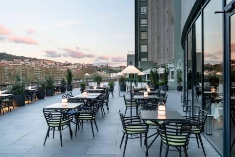 Terraza - Hotel Vincci Consulado de Bilbao