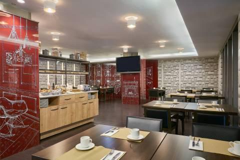 Breakfast Buffet - Vincci Zaragoza Zentro 4*