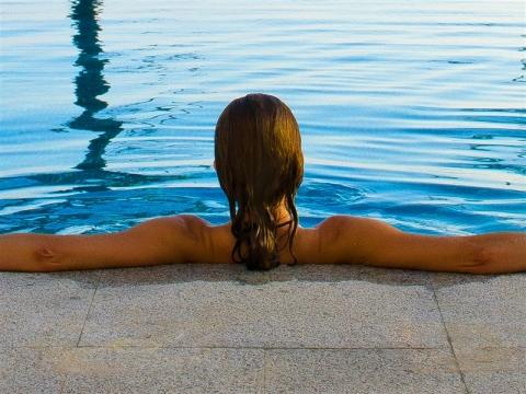 Plunge pool - Vincci Mercat 4*