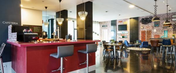 Bar Lounge - Services Hôtel Malaga - Vincci Hoteles
