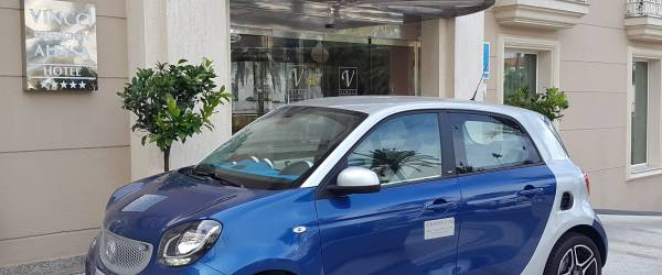 Servicios Hotel Vincci Aleysa Boutique&Spa -Servicio de coches de cortesía-