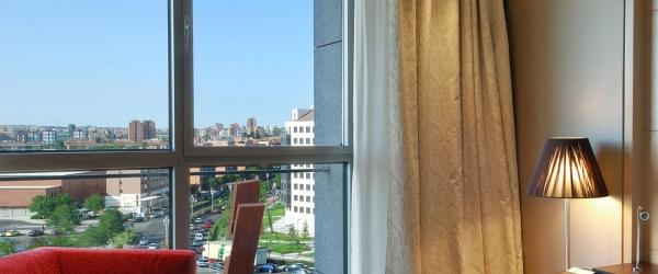 Habitación superior. Hotel Valladolid Frontaura - Vincci Hoteles
