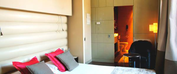 Übernachtung im Hotel Capitol Madrid- Vincci Doppelzimmer mit Terrasse