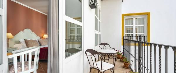 Habitación Doble con balcón Vincci La Rábida