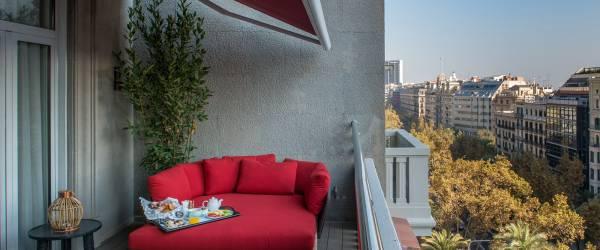 Deluxe Zimmer mit terrasse - Vincci Mae 4*