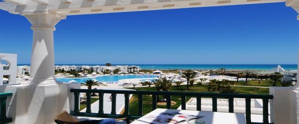 Bungalow mit Meerblick. Hotel Helios Beach Djerba - Vincci Hoteles