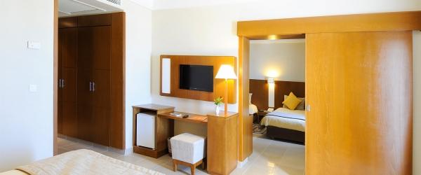 Chambres Hôtel Vincci Helios Beach Djerba - Chambre familiale
