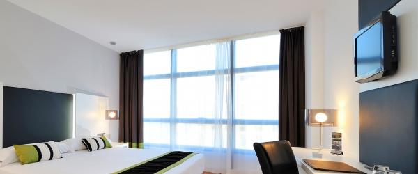 Chambre standard double/twin - Chambres Hôtel Malaga - Vincci Hoteles