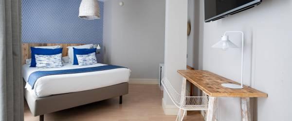 Doppelzimmer Standard. Hotel Zimmer Puertosantander - Vincci Hoteles