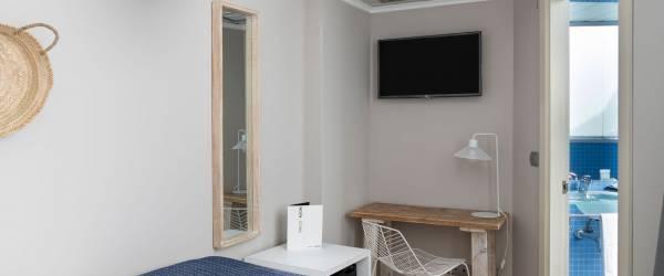 Einzelzimmer. Hotel Zimmer Puertosantander - Vincci Hoteles