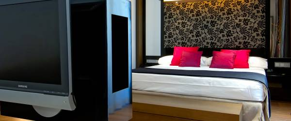 Rooms Hotel Madrid Soho - Vincci Hotels - Rooms for the disabled