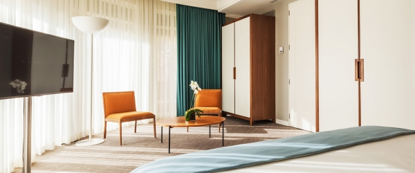 Suite. Chambres Hôtel Porto - Vincci Hoteles