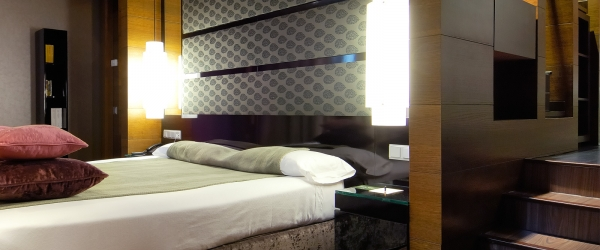 Übernachtung im Hotel Vincci Soho in Madrid - Suite Zimmer