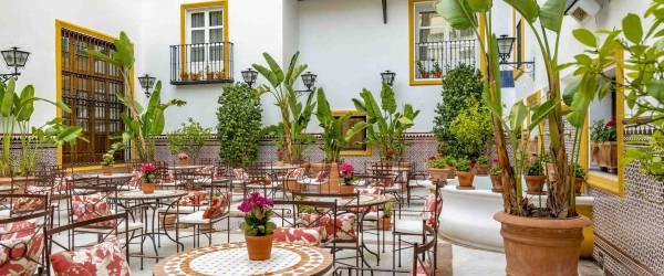 patio_andaluz_Vincci La Rábida