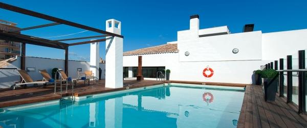 Servicios Hotel Málaga Posada del patio - Vincci Hoteles - Plunge pool