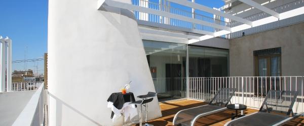 Servicios Hotel Valencia Palace - Vincci Hoteles - Solarium