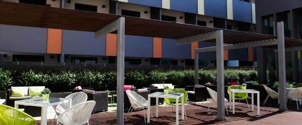 Terraza Lounge - Vincci Zaragoza Zentro 4*