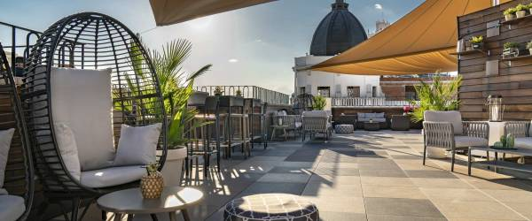 Terrasse Roof 66 - Vincci Hotel Madrid Gran Vía