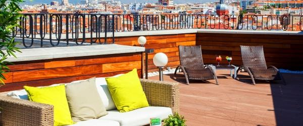 Services Hotel Madrid Vía 66 - Vincci Hotels - Terrace