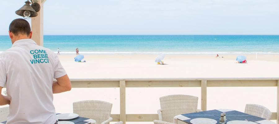 Chiosco in spiaggia Costa Golf - Hotel Vincci Costa Golf