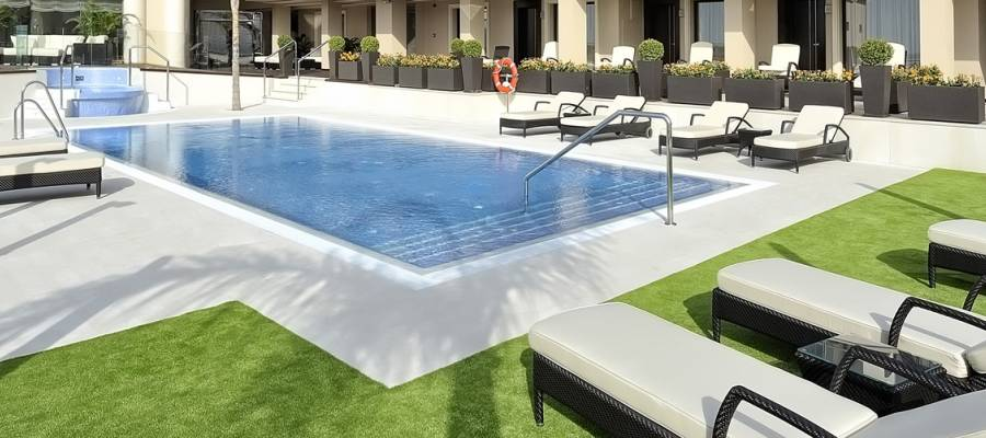 Hotel Vincci Aleysa Boutique&Spa - Hotelgarten