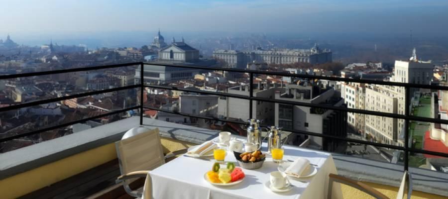 Habitaciones Hotel Madrid Capitol - Vincci Hoteles - Tower Suite 360º