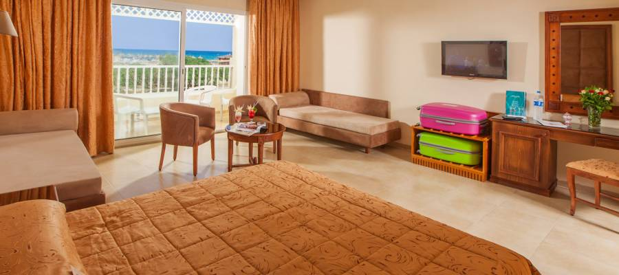Habitación Familiar vista al mar
