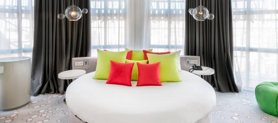 Rooms Hotel Vinnci Madrid Capitol - Skylight