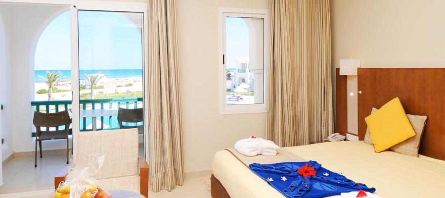Camera doppia vista mare - Vincci Hélios Beach   Túnez   Habitación