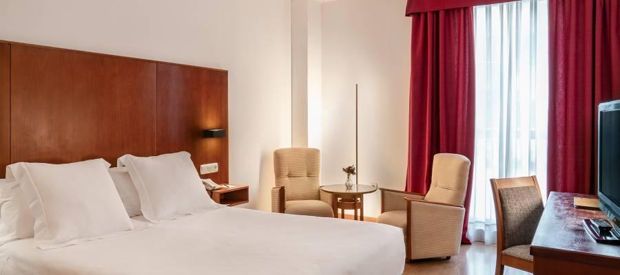 Chambres Hôtel Ciudad de Salamanca - Vincci Hoteles - Chambre Double