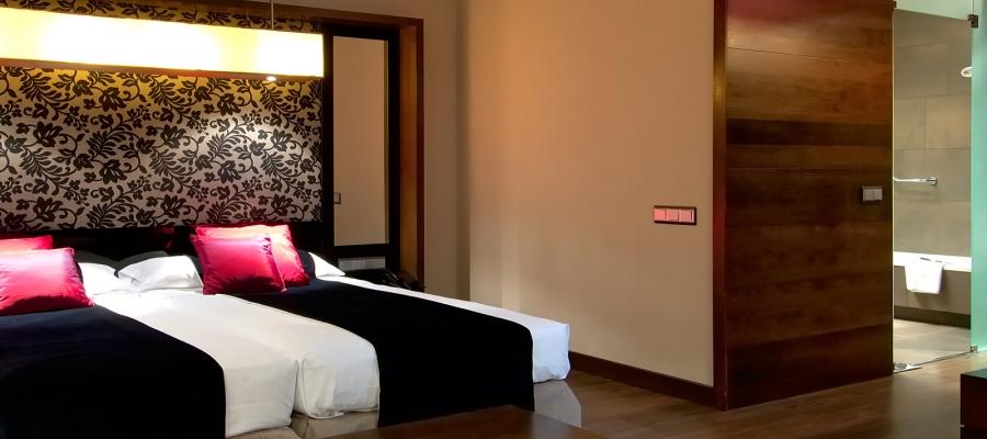 Übernachtung im Hotel Vincci Soho in Madrid - Executive-Zimmer