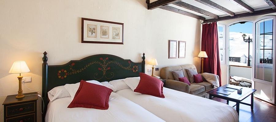 Habitaciones Hotel Vincci Sierra Nevada Rumaykiyya - Habitación Doble