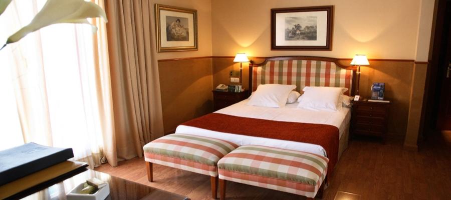 Habitaciones Hotel Granada - Vincci Hoteles - Habitación Doble
