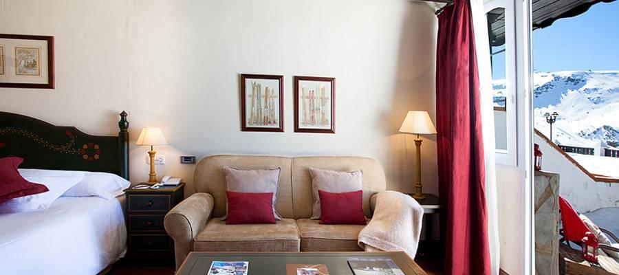 Habitaciones Hotel Vincci Sierra Nevada Rumaykiyya - Habitación Doble Vistas Montaña