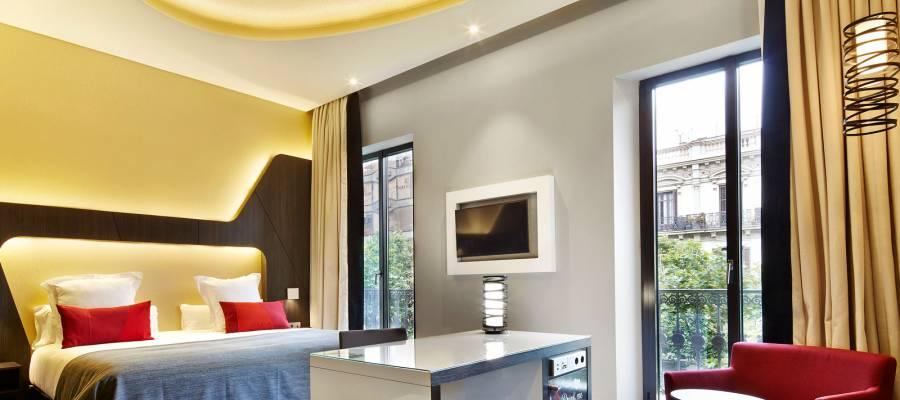 Camera Superiore. Hotel Barcelona Gala - Vincci Hoteles