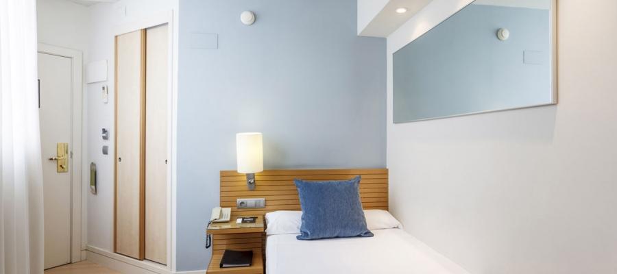 Habitación individual. Hotel Santander Puertochico - Vincci Hoteles
