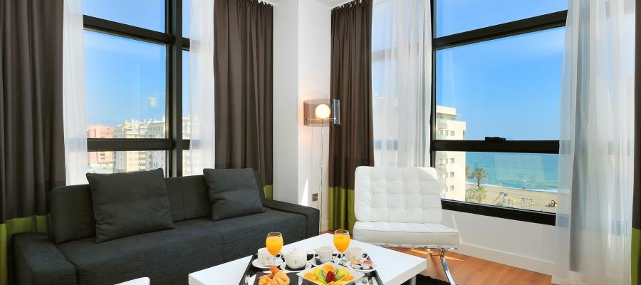 Habitaciones Hotel Málaga - Vincci Hoteles - Habitación Junior Suite