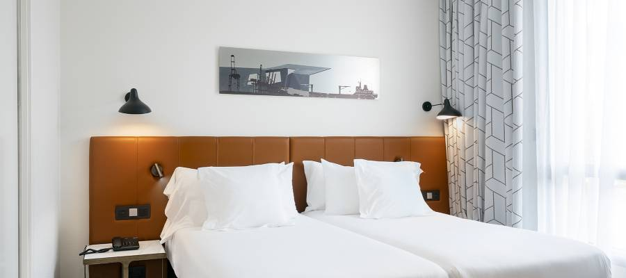 Habitaciones-Hoteles Vincci. Hotel Vincci Consulado de Bilbao