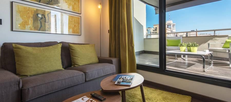 Camera Junior Suite - Centrum Hotel Madrid - Vincci Hoteles