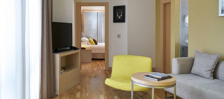 Habitaciones Hotel Vincci Málaga Posada del patio - Especial Junior Suite