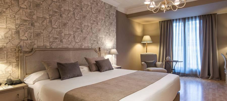 Chambre Double - Chambres Lys Hôtel Valence - Vincci Hoteles